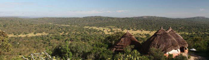 Komfortlodge beim Lake Mburo Nationalpark