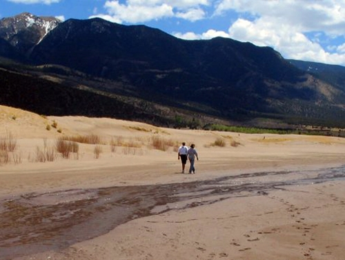 Great Sand Dunes Nationalpark Abenteuerritt