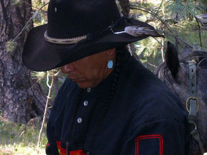 Chiricahua Apache Ride in der Gila-Wildnis