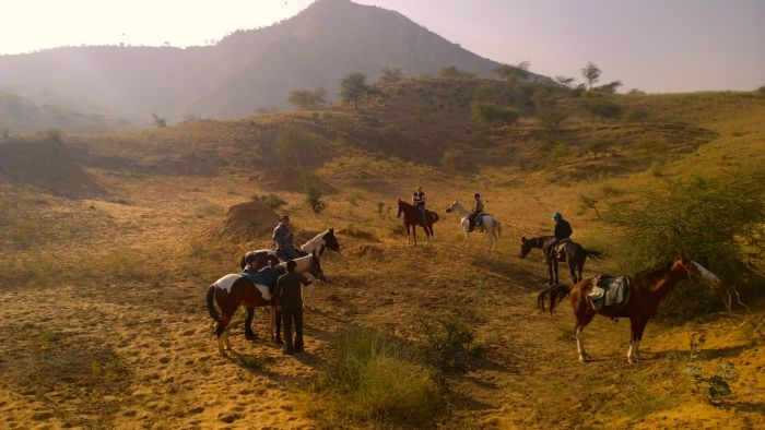 Burgen Trail in Rajasthan